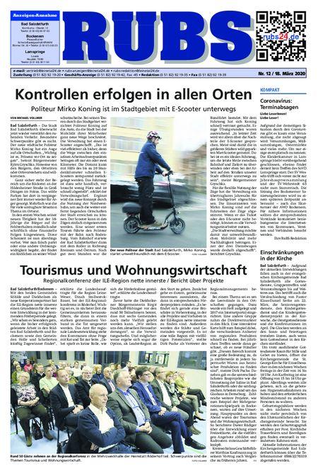 Rund um Bad Salzdetfurth vom 18.03.2020