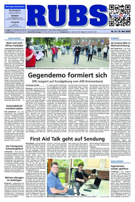 Rund um Bad Salzdetfurth vom 27.05.2020