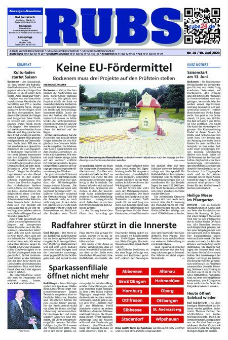 Rund um Bad Salzdetfurth vom 10.06.2020