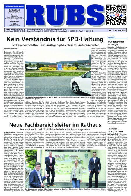 Rund um Bad Salzdetfurth vom 01.07.2020