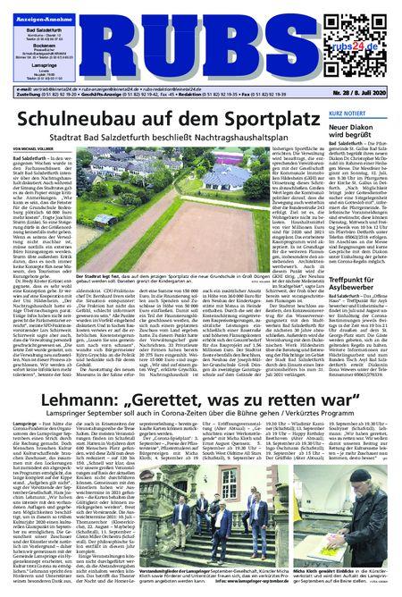 Rund um Bad Salzdetfurth vom 08.07.2020