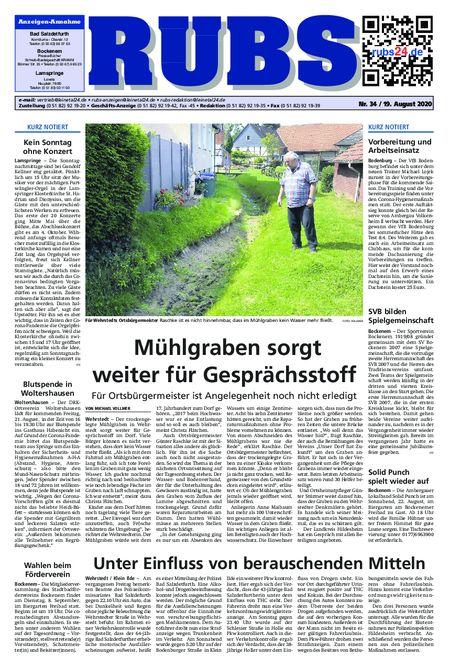 Rund um Bad Salzdetfurth vom 19.08.2020