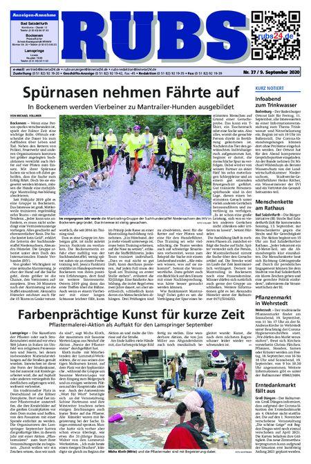 Rund um Bad Salzdetfurth vom 09.09.2020