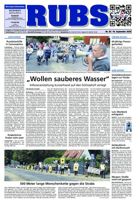 Rund um Bad Salzdetfurth vom 16.09.2020