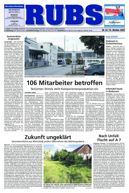 Rund um Bad Salzdetfurth vom 14.10.2020