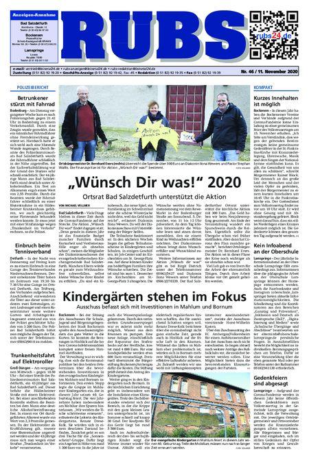 Rund um Bad Salzdetfurth vom 11.11.2020
