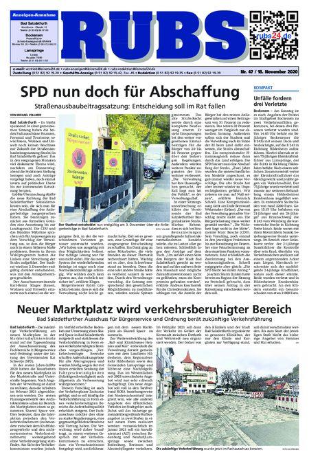 Rund um Bad Salzdetfurth vom 18.11.2020