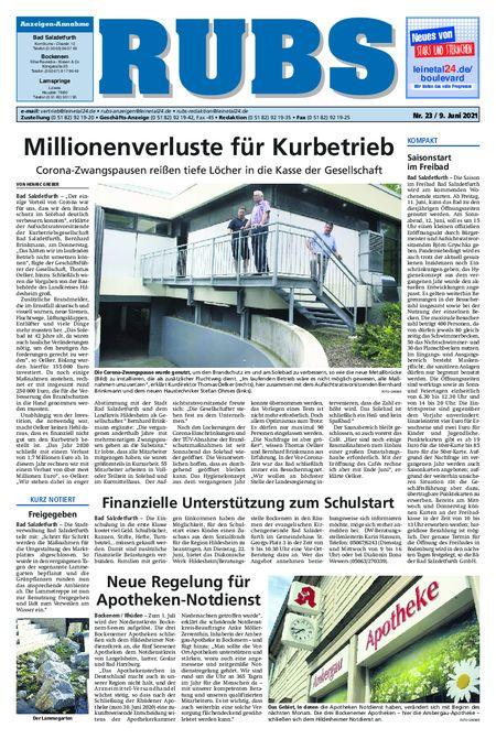 Rund um Bad Salzdetfurth vom 09.06.2021