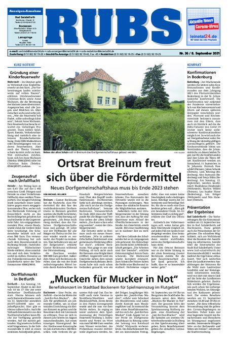 Rund um Bad Salzdetfurth vom 08.09.2021