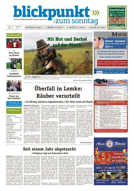 Blickpunkt Nienburg am Sonntag vom 01.02.2020