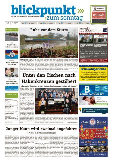 Blickpunkt Nienburg am Sonntag vom 08.02.2020