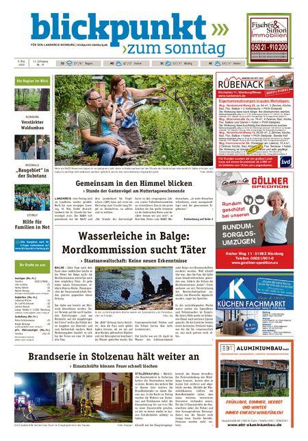 Blickpunkt Nienburg am Sonntag vom 09.05.2020