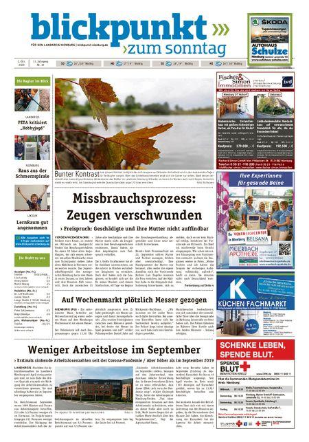 Blickpunkt Nienburg am Sonntag vom 02.10.2020