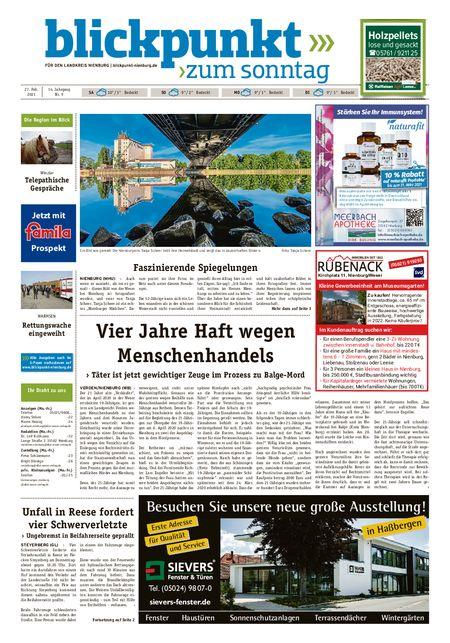 Blickpunkt Nienburg am Sonntag vom 27.02.2021