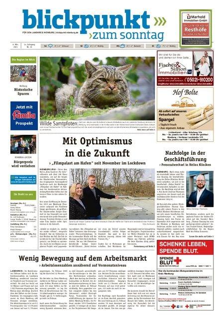 Blickpunkt Nienburg am Sonntag vom 06.03.2021