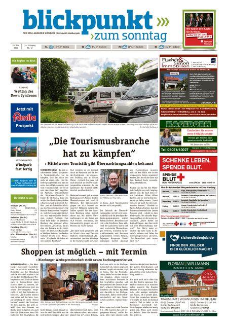 Blickpunkt Nienburg am Sonntag vom 20.03.2021
