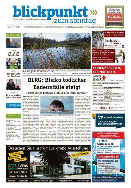 Blickpunkt Nienburg am Sonntag vom 30.04.2021