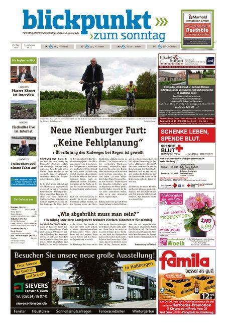 Blickpunkt Nienburg am Sonntag vom 29.05.2021