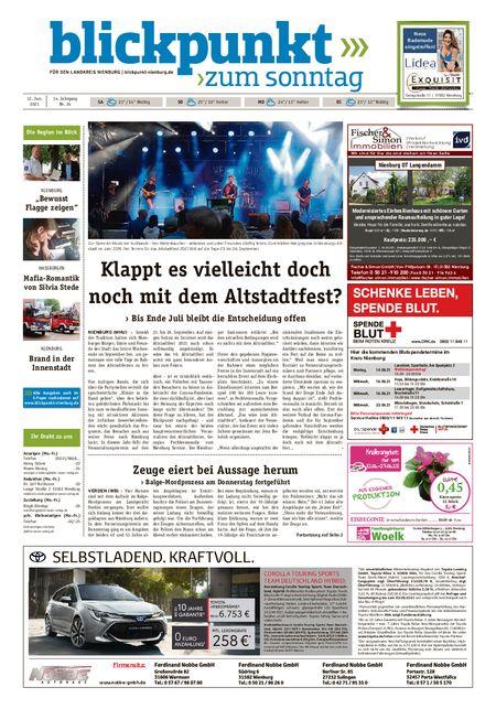 Blickpunkt Nienburg am Sonntag vom 12.06.2021