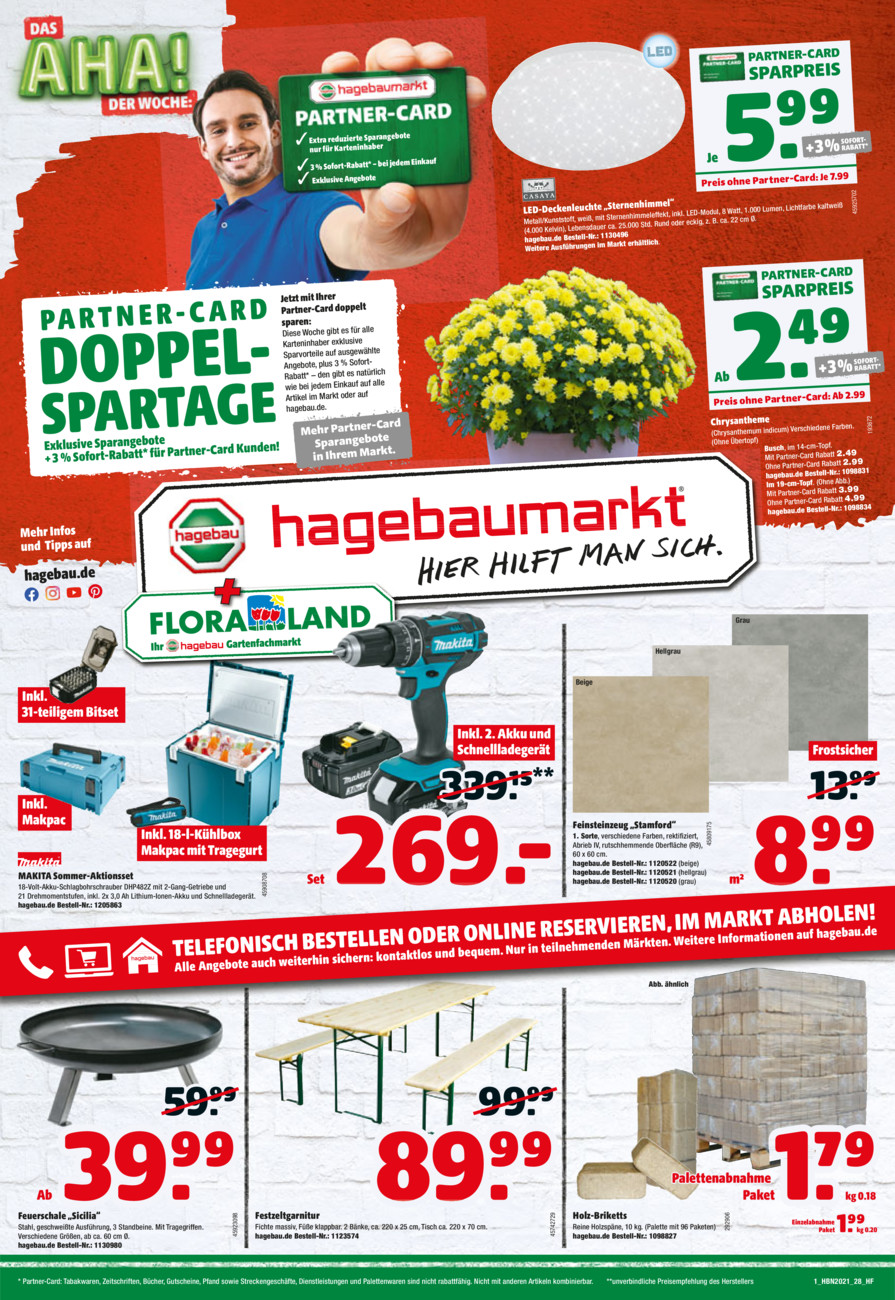 Thies & Co. Floraland vom Donnerstag, 29.07.2021