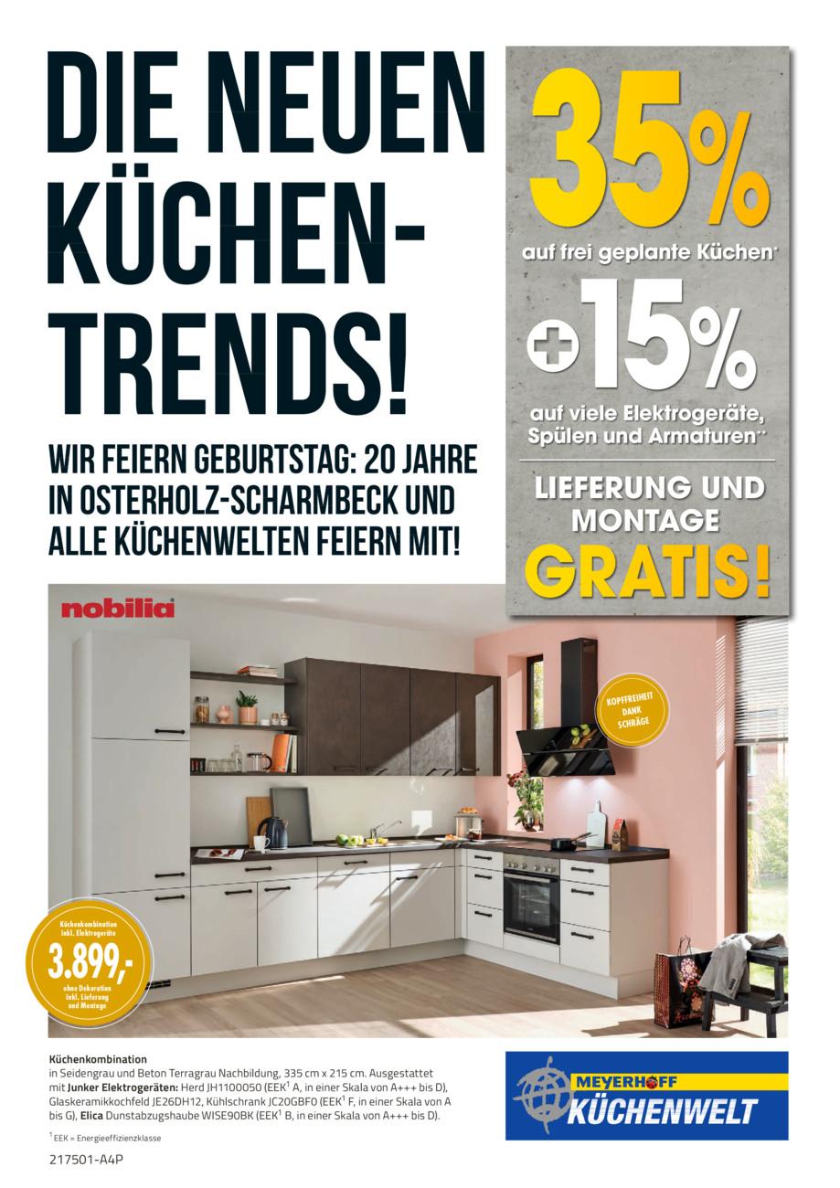 Meyerhoff - M20-K Küchenprospekt vom Mittwoch, 26.05.2021