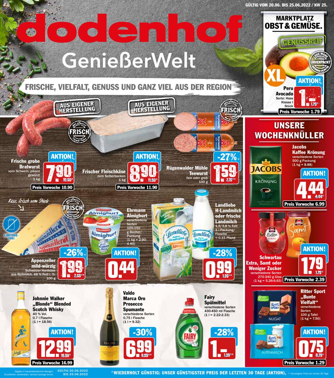 Dodenhof Genießermarkt vom Sonntag, 20.06.2021