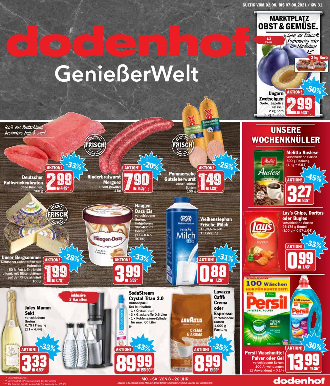 Dodenhof Genießermarkt vom Sonntag, 01.08.2021