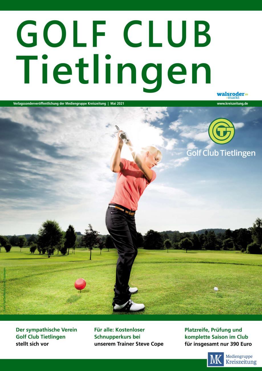 Golfclub Tietlingen vom Samstag, 22.05.2021